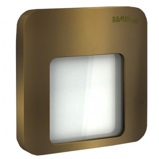 Spot Moza LED gold, lumina rece, 0.56W, 14V, IP44