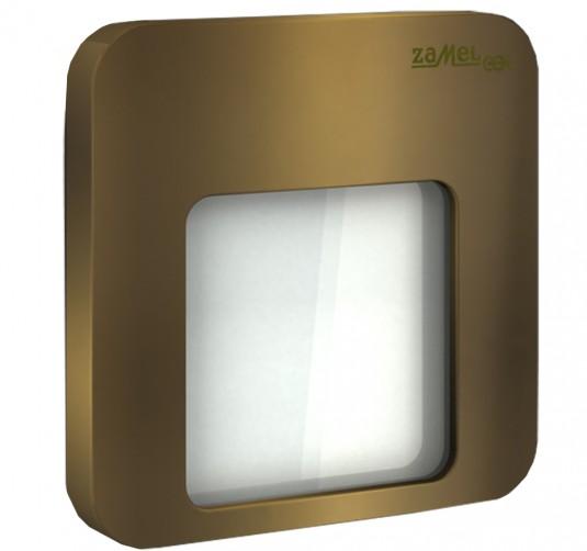 Spot Moza LED gold, RGB, 0.84W, 14V, IP44