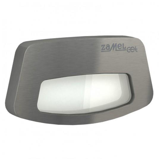 Spot Tera LED inox, lumina rece,  0.56W, 14V, IP44