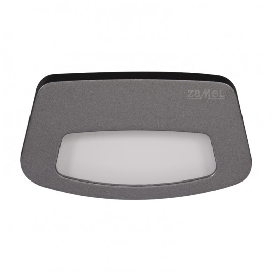 Spot Tera LED grafit, lumina calda, 0.42W, 14V, IP44