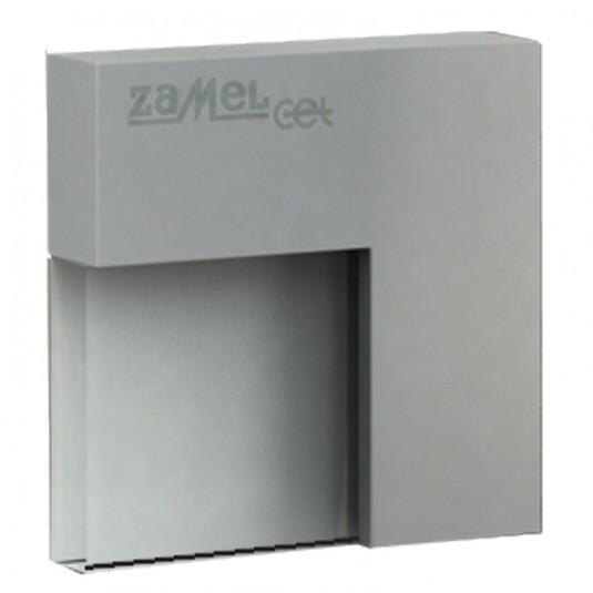 Spot Tico LED aluminiu, lumina calda, 0.42W, 14V, IP44