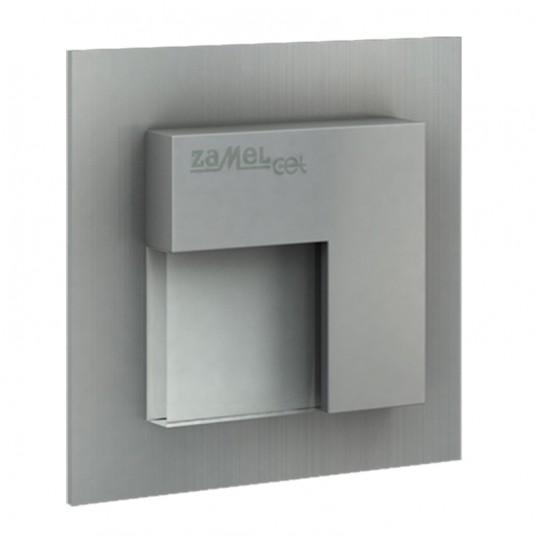Spot Tico LED aluminiu, lumina rece, 0.28W, 14V, IP44