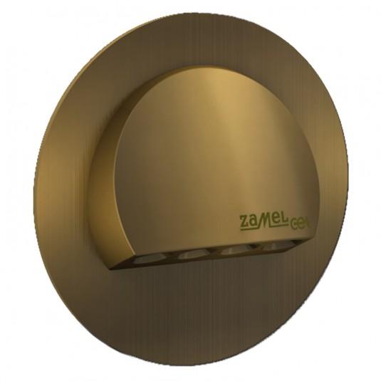 Spot Rubi LED gold, lumina calda, 0.42W, 14V, IP56