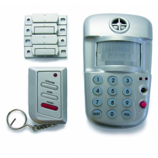 AVIDSEN Alarma senzor de miscare, sirena, 2 contacte magnetice