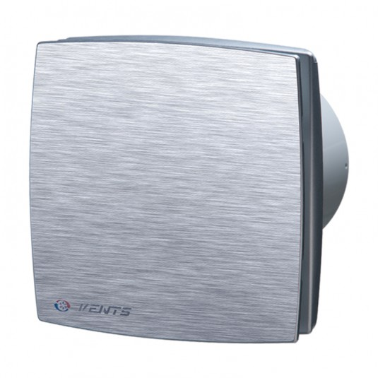 Ventilator diam 100mm timer, aluminiu - SKU 100LDAT