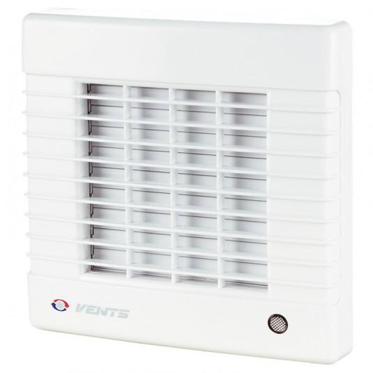 VENTS Ventilator cu jaluzele automate si timer, diam 100mm, 98mc/h