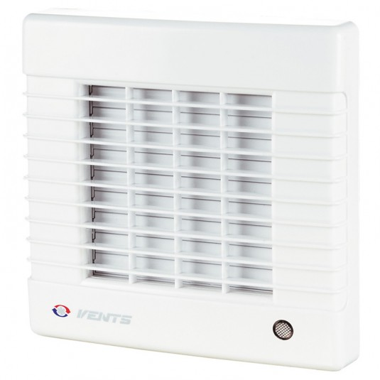 VENTS Ventilator cu jaluzele automate si intrerupator fir, diam 150mm, 295mc/h, 26W, 0.13A, 230V, 50Hz