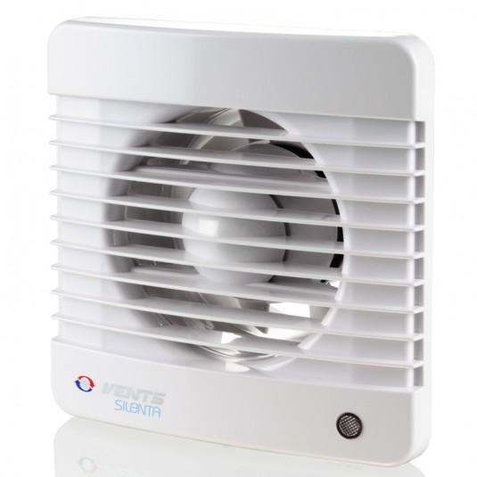 Ventilator diam 100mm intrerupator fir, timer, senzor umiditate - SKU 100Silenta MVTH