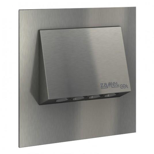 Spot Navi LED inox, lumina calda, 0.93W, 230V, IP20