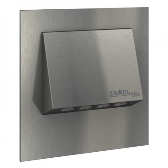 Spot Navi LED inox, lumina rece, 1.4W, 230V, IP20