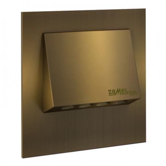 Spot Navi LED gold, lumina calda, 0.93W, 230V, IP20
