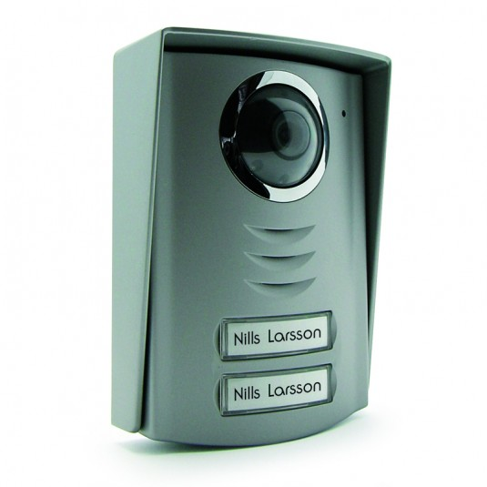 AVIDSEN Post exterior cu camera si 2 taste pentru videointerfon