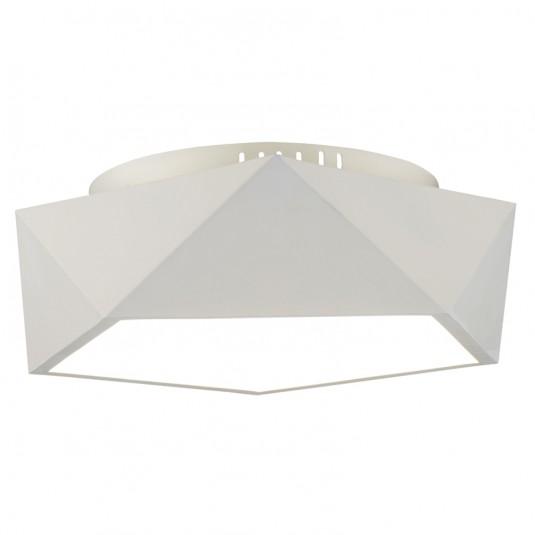 ARCA Plafoniera 1x24W LED inclus, alb, metal - SKU 1193102