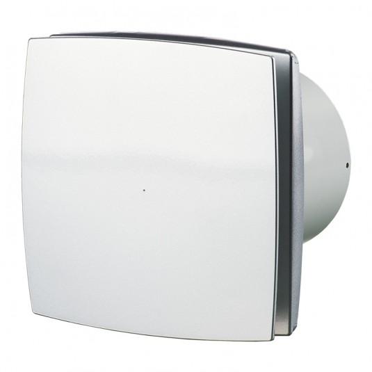 Ventilator diam 150mm timer, gri - SKU 150LDT alu mat