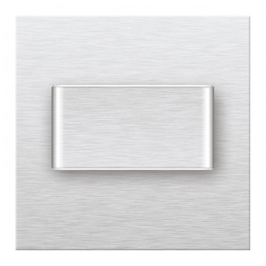 MAGIC DUO Spot argintiu, 230V 1.0W, lumina calda