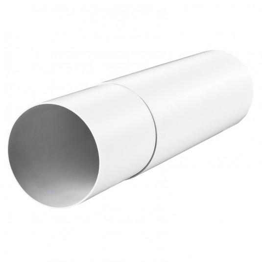 VENTS Tub telescopic PVC, diam 125mm, L 300-500mm