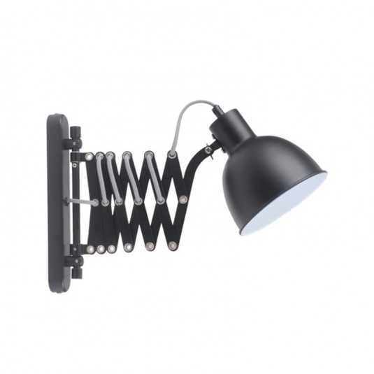 Talaro aplica negru 1xE14 40W, metal - SKU 8410104
