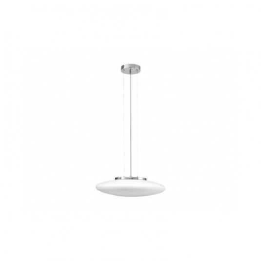 Pendul UFO alb 5x60W, E27, sticla - SKU 9491502