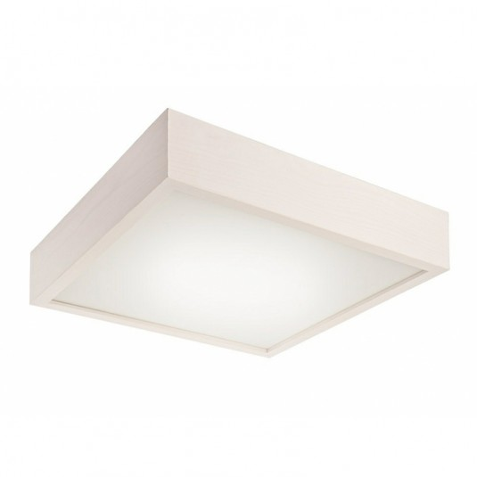Plafoniera LED alb 20W, 1700lm, 4000K, lemn - SKU LD.PD 9.2 LED - 32764