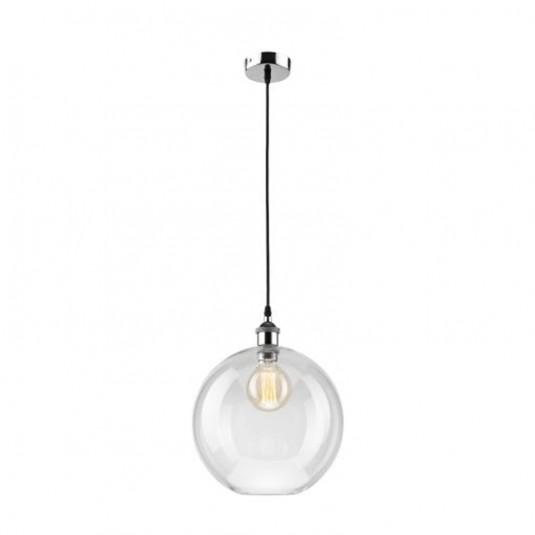 Pendul  crom 1x60W E27, sticla - SKU LM 1.1/69 - 34416