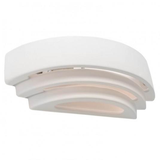 Aplica TRISOL alb 1x60W E27, ceramic - SKU SL.0033