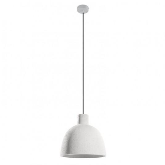 Pendul DAMASO alb 1x10W E27, beton - SKU SL.0281