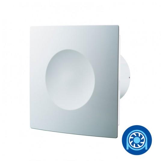 Blauberg Ventilator axial diam 100mm cu valva antiretur, rulment - SKU Blauberg Hi-Fi 100