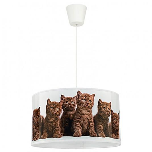 PRINT CATS Pendul 1xE27 40W , plastic
