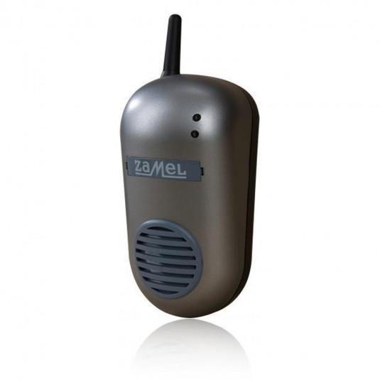 Sonerie fara fir alimentata priza, frecventa 433.92 MHz, 16 canale, volum reglabil, sunet ding-dong, max.85 dB