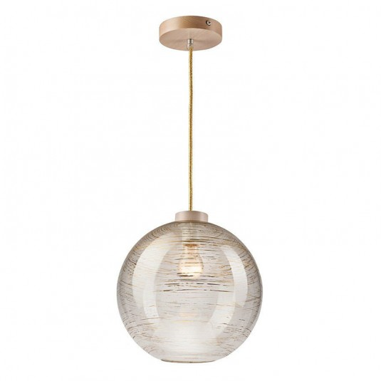 Pendul transparent, 1x60W E27, sticla - SKU LM 1.1/47 - 29122