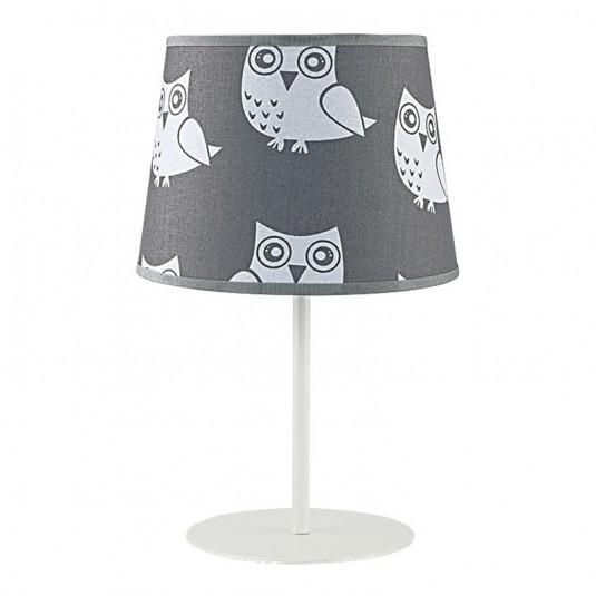 KIDS OWL Veioza 1xE14 40W , textil