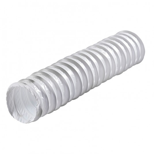 VENTS Tub flexibil PVC, diam 100mm, lungime 2.5m - SKU Polyvent 660/102/2.5