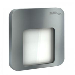 Spot Moza LED aluminiu, lumina calda, 0.42W, 14V, IP44