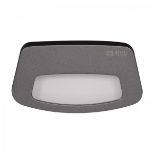 Spot Tera LED grafit, lumina calda, 0.42W, 14V, IP44