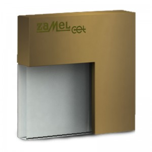 Spot Tico LED gold, lumina calda, 0.42W, 14V, IP44