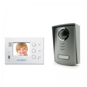 AVIDSEN Videointerfon LCD 2.4'', un post
