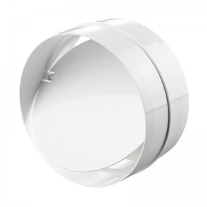 VENTS Conector cu clapeta antiretur PVC, diam 150mm