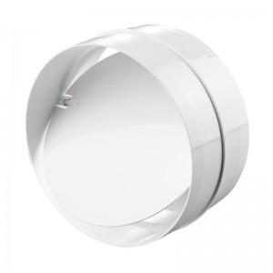VENTS Conector PVC cu clapeta antiretur 100mm