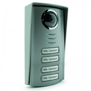 AVIDSEN Post exterior cu camera si 4 taste pentru videointerfon