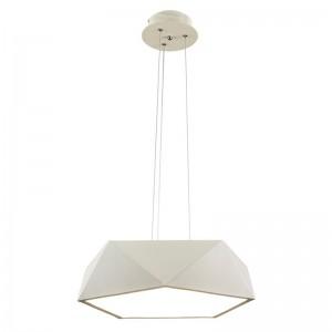 ARCA Pendul 1x24W LED incl., alb, metal
