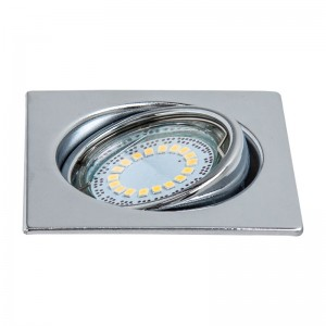 LEDSDREAM Spot crom LED 1x4.5W, GU10, lumina calda