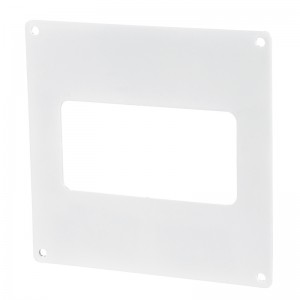 VENTS Placa fixare perete PVC, 110*55mm