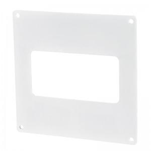 VENTS Placa fixare perete PVC, 204*60mm
