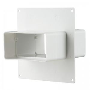 VENTS Placa fixare perete cu conector 60x204mm