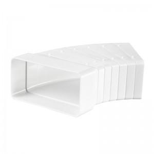 VENTS Conector multi-unghi, tub rectangular, 110*55mm