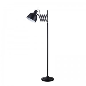 Lampadar Talaro negru 1x40W, E14, metal