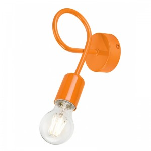 Aplica CAMILLA portocaliu 1x60W E27, metal