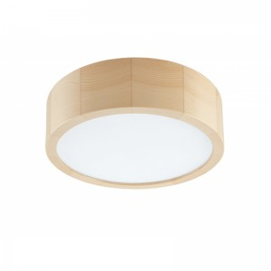 Plafoniera LED EVELINA pin 12W, lemn