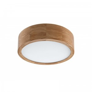 Plafoniera LED EVELINA stejar 12W, lemn