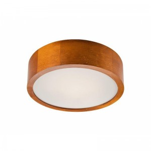 Plafoniera LED EVELINA rustic 21W, lemn